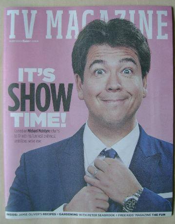 <!--2016-04-16-->The Sun TV magazine - 16 April 2016 - Michael McIntyre cov