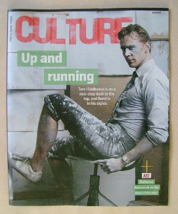 <!--2016-03-06-->Culture magazine - Tom Hiddleston cover (6 March 2016)