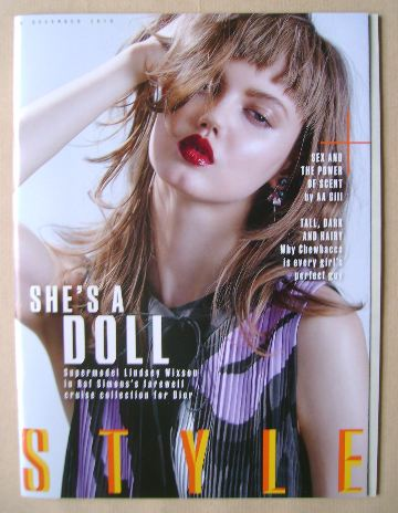 <!--2015-12-06-->Style magazine - Lindsey Wixson cover (6 December 2015)