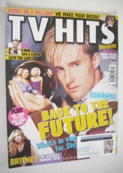 TV Hits magazine - October 2001 - Ian H Watkins cover