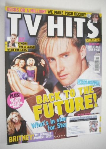 <!--2001-10-->TV Hits magazine - October 2001 - Ian H Watkins cover