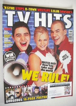 TV Hits magazine - June 2001 - Hear'Say cover