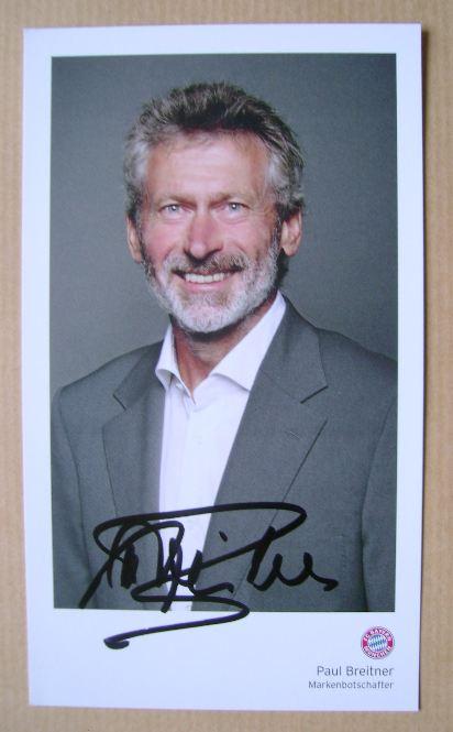 Paul Breitner autograph