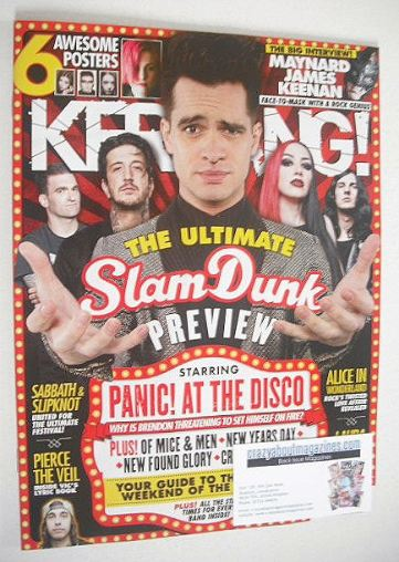 <!--2016-05-28-->Kerrang magazine - Slam Dunk Preview cover (28 May 2016 -