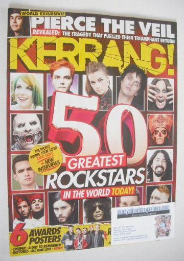 <!--2016-07-02-->Kerrang magazine - 50 Greatest Rock Stars In The World Tod