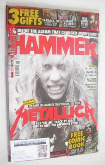 <!--2016-06-->Metal Hammer magazine - Metallica cover (June 2016)