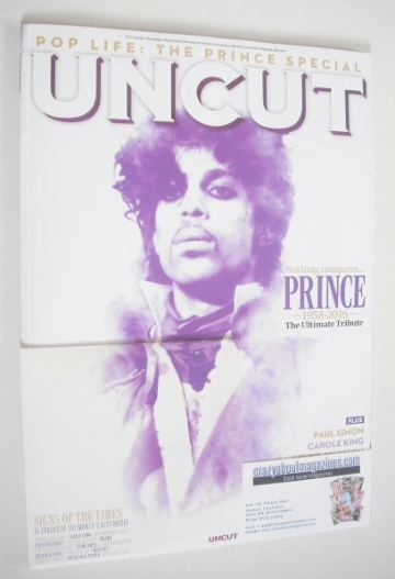 <!--2016-07-->Uncut magazine - Prince cover (July 2016)
