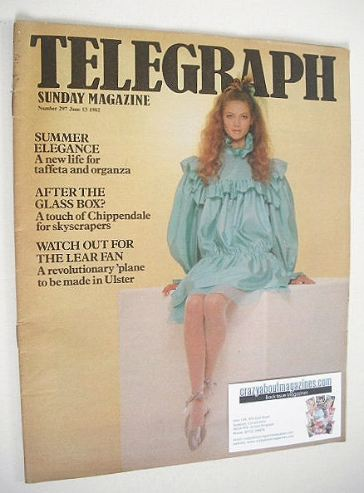 <!--1982-06-13-->The Sunday Telegraph magazine - Sophie Ward cover (13 June