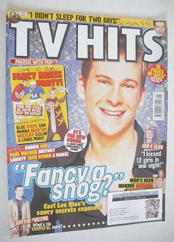 <!--2002-01-->TV Hits magazine - January 2002 - Lee Ryan cover