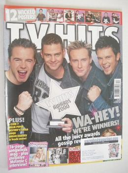 TV Hits magazine - December 2000 - Five cover