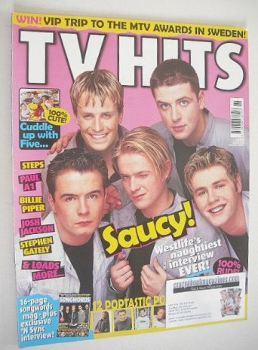 TV Hits magazine - November 2000 - Westlife cover