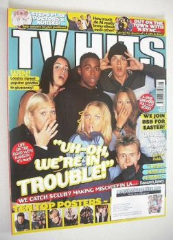 TV Hits magazine - May 2000 - S Club 7 cover
