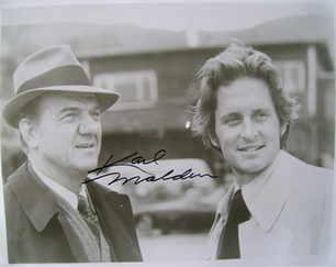 Karl Malden autograph