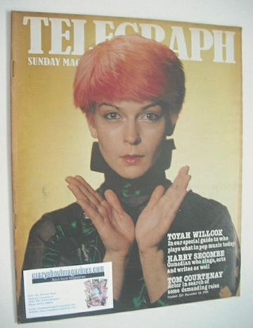 <!--1980-12-14-->The Sunday Telegraph magazine - Toyah Willcox cover (14 De