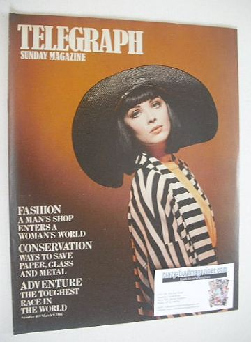 <!--1986-03-09-->The Sunday Telegraph magazine - Fashion cover (9 March 198