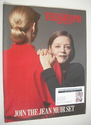 <!--1987-03-08-->The Sunday Telegraph magazine - Jean Muir cover (8 March 1