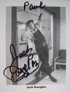 Jack Douglas autograph