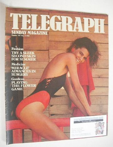 <!--1983-05-08-->The Sunday Telegraph magazine - Second Skin For Summer cov