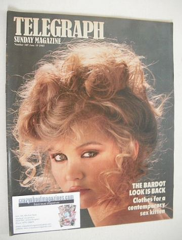 <!--1983-06-19-->The Sunday Telegraph magazine - The Bardot Look cover (19