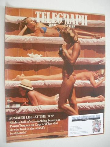 <!--1983-07-10-->The Sunday Telegraph magazine - Summer Life At The Top cov