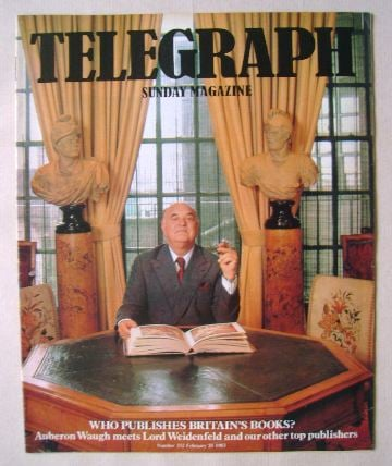 <!--1983-02-20-->The Sunday Telegraph magazine - Lord Weidenfeld cover (20