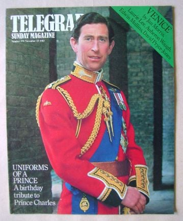 <!--1983-11-13-->The Sunday Telegraph magazine - Prince Charles cover (13 N