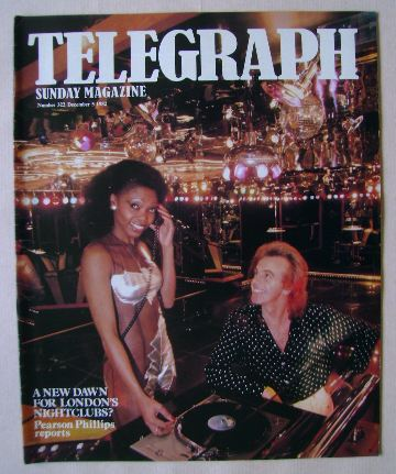 <!--1982-12-05-->The Sunday Telegraph magazine - Peter Stringfellow and dis