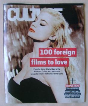 Culture magazine - 100 Foreign Films To Love cover (3 July 2016)