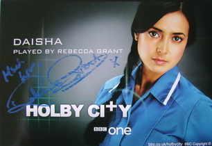 Rebecca Grant autograph