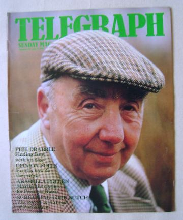 <!--1983-06-05-->The Sunday Telegraph magazine - Phil Drabble cover (5 June