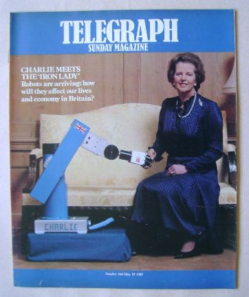 <!--1983-05-15-->The Sunday Telegraph magazine - Margaret Thatcher cover (1