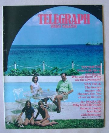 <!--1982-11-07-->The Sunday Telegraph magazine - Ian Boxall and Family cove