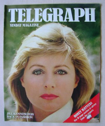 <!--1983-05-22-->The Sunday Telegraph magazine - Jill Kennington cover (22