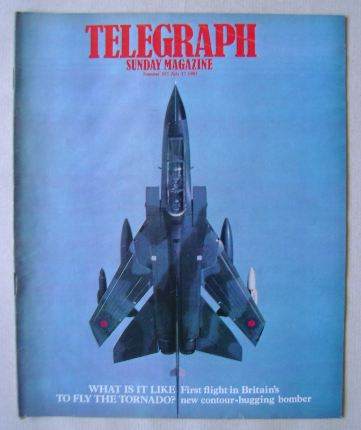 <!--1983-07-17-->The Sunday Telegraph magazine - Tornado Bomber cover (17 J
