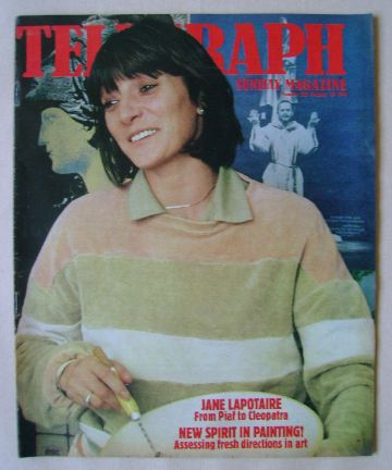 <!--1981-01-18-->The Sunday Telegraph magazine - Jane Lapotaire cover (18 J