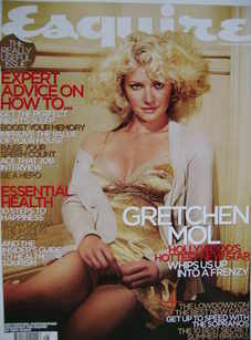 <!--2006-08-->Esquire magazine - Gretchen Mol cover (August 2006)