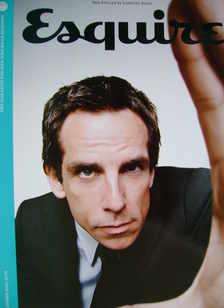 Esquire magazine - Ben Stiller cover (October 2008 - Subscriber's Issue)