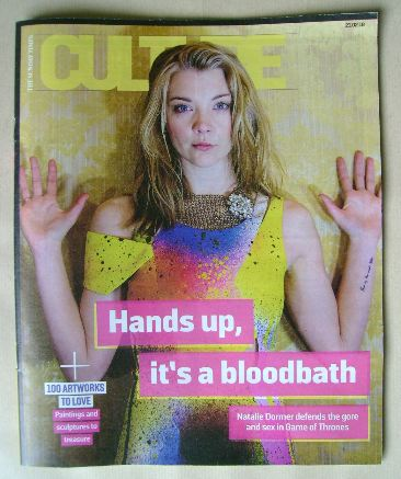<!--2016-02-21-->Culture magazine - Natalie Dormer cover (21 February 2016)