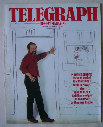 <!--1981-02-15-->The Sunday Telegraph magazine - Maurice Sendak cover (15 F