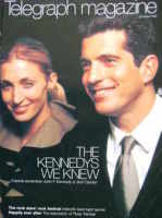 <!--1999-08-21-->Telegraph magazine - John Kennedy Jr and Carolyn cover (21 August 1999)