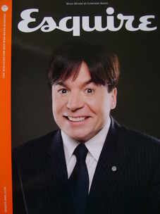 <!--2008-08-->Esquire magazine - Mike Myers cover (August 2008 - Subscriber