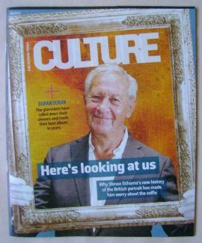 Culture magazine - Simon Schama cover (6 September 2015)