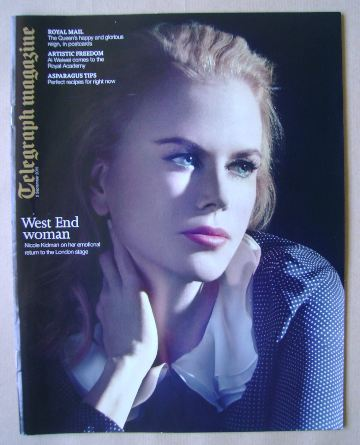 <!--2015-09-05-->Telegraph magazine - Nicole Kidman cover (5 September 2015