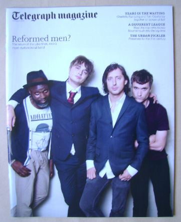 <!--2015-08-08-->Telegraph magazine - The Libertines cover (8 August 2015)