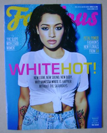 <!--2016-04-24-->Fabulous magazine - Vanessa White cover (24 April 2016)