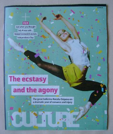<!--2016-06-12-->Culture magazine - Natalia Osipova cover (12 June 2016)
