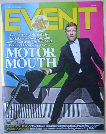 <!--2016-01-10-->Event magazine - Dermot O'Leary cover (10 January 2016)