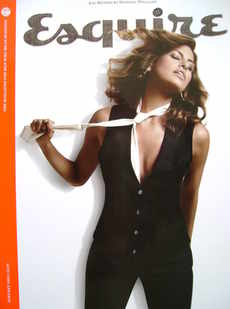 Esquire magazine - Eva Mendes cover (January 2009 - Subscriber's Issue)