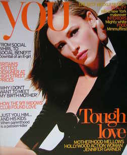 <!--2007-03-11-->You magazine - Jennifer Garner cover (11 March 2007)