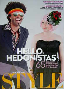 <!--2010-04-25-->Style magazine - Hello Hedonistas cover (25 April 2010)